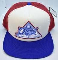 Omit Mens Pyramid Snapback Hat Cap New