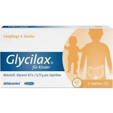 GLYCILAX Suppos. f. Kinder 6 St PZN 4942868
