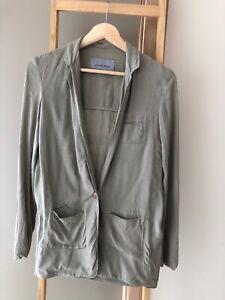 SCANLAN & THEODORE Soft Blazer Jacket Sz 8 GUC