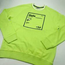 Men's Fila Lime Green Crewneck Sweatshirt
