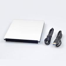 External USB3.0 Silver Case Optical Drive Enclosure For 12.7mm SATA DVD Burner