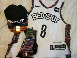Spencer Dinwiddie 2019-20 Brooklyn Nets Game Worn Authentic Jersey 29 Pts !