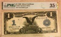 SERIES 1899 BLACK EAGLE $1 SILVER CERTIFICATE PMG35 EPQ CHOICE VERY FINE   3673