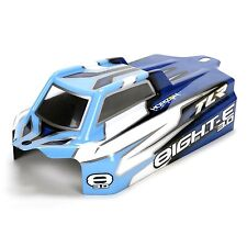 Team Losi Racing TLR Cab Forward Body Clear w/ stickers: 8IGHT E 3.0 TLR340002