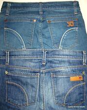 JOE'S JEANS Lot 2 Womens 25 PROVOCATEUR Boot Cut Arc Pockets Designer Denim Joes