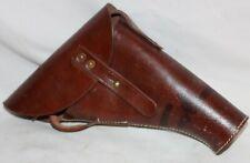 holster en cuir pour le pistolet lance fusée anglais WW2