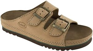 Scholl Air Bag Bioprint Sandals - Beige/Tan