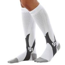 Compression Socks Sports Calf Shin Leg Graduated Running Fitness Crossfit Stock