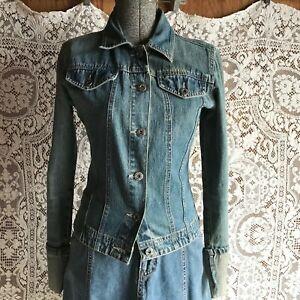 Rue 21 Blue Jeans Denim Jacket Small
