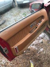 Chrysler TC Maserati  1989-1991 Carpet Dash Board Cover Mat Maroon