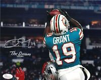 NFL Miami Dolphins Jakeem Grant #19 Autographed Picture 8x10 JSA Certified Photo