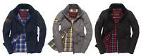 Superdry Coat - Heritage Jacket - Womens - Black Blue or Grey - Small & Medium