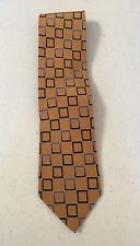 Men's Giorgio Brutini Geometric 100% Silk Dress Necktie