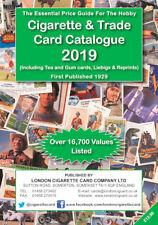 Cigarette & Trade Card Catalogue 2019 Inc Tea & Gum Cards, Liebig & Reprints