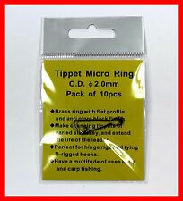 Tippet Rings 2.0mm (10 pcs) save your Orvis, Sa Leader mailed fast from Mi, Usa