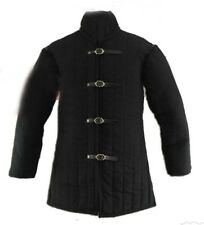 Medieval Thick Padded Gambeson Aketon Coat Armor cotton with acryelik febric