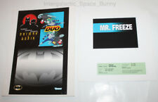 1995 Kenner Batman & Robin Duo Animated Mr. Freeze Proof Card Set Prototype