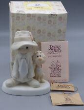 """Precious Moments """"To a Special Dad"""" E-5212 Porcelain Figurine Boy with Dog"""