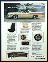 Tool Box  Magnet Gift Card Insert 1972 Ford Ranchero GT Auto Refrigerator