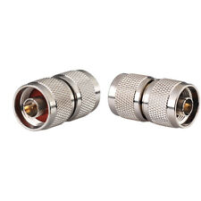 2-Pack N Type Male to Male Connector Adapter for 4G LTE Cell Phone Booster
