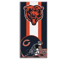 "New Football Team Chicago Bears Beach Towel Bath 30'' x 60"" Licensed"