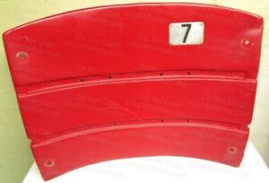 Three Rivers Stadium ORIGINAL Red Seat Back #7 And ORIGINAL COA from the Auction