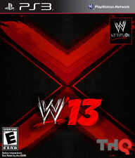 Ps3 Sony PlayStation 3 Game WWE 13 En Ger Boxed