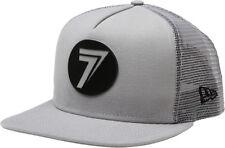 Seven Dot Mesh Snapback Hat-Gray/Black  Mens 1220003-022-OSFA