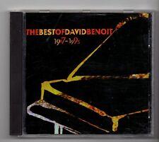(JE43) David Benoit, The Best Of 1987-95 - 1995 CD