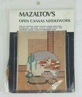 Mazaltov's Open Canvas Needlework Kit Rita Klein Southwestern CS41