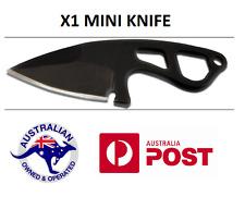 1X BLACK BWITHU Outdoor EDC Mini Knife Sheath Hunting Camping Pocket