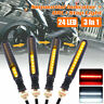 4PCS LED Motorcycle Sequential Flowing Turn Signal Indicator DRL Stop Lights