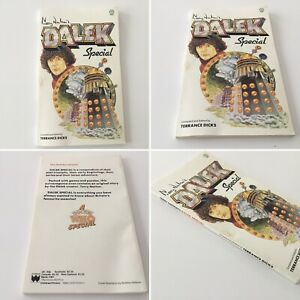 DOCTOR WHO TARGET SPIN OFF BOOK - TERRY NATION'S DALEK SPECIAL - 1979 1ST EDIT