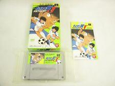 CAPTAIN TSUBASA J Item ref/0309 Super Famicom Nintendo Japan Game sf