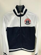 Washington Wizards WOMEN'S White/Navy Jacket GIII 4her Sample - Small