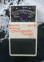 Boss TU-2 Chromatic Tuner Stimmgerät Effekt Pedal effect stompbox