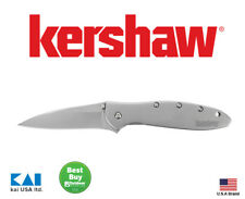 Kershaw Leek Stainless Steel Knife 7 in. L Silver