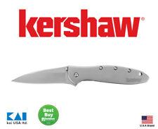 """Kershaw Knives Ken Onion 1660 Leek Folding Knife 3"""" 14C28N Blade Steel Handle"""