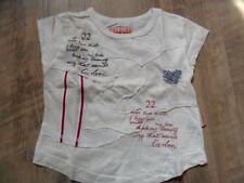 CARBONE schönes T-Shirt creme Gr. 92 NEUw. ST817