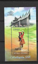 1998 MNH Indonesia Michel block 141