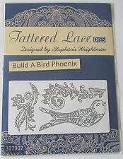 "TATTERED LACE - BUILD A BIRD  - ""PHEONIX""    - 3 DIES"
