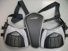 New Brine Rogue Hd lacrosse rib pads sz. small kidney guard field box heavy duty