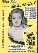 SOPHIA LOREN sexy German Magazine 1955