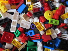 Over 100 Lego Coloured Small Pieces . A very good Mix of little bricks