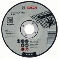"""Bosch 115mm (4.5"""") x 22.23 x 1mm Thin Metal Inox Fast Cutting Disc - QTY 5 DISCS"""