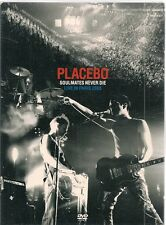 DVD CONCERT DIGIPACK 21 TITRES--PLACEBO-SOULMATES NEVER DIE / LIVE IN PARIS 2003