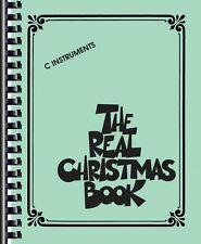 The Real Christmas Book Sheet Music C Edition Includes Lyrics! Real Bo 000240306