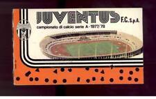 Calcio-football juventus Abbonamento  1977/78
