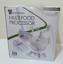 In MyHome Easy & Handy Multi Food Processor (Red Or White to Choose From)