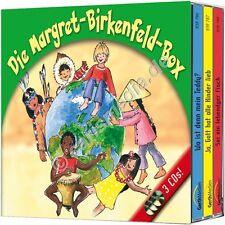 CD-Set: DIE MARGRET-BIRKENFELD-BOX 1 - drei CDs - Kinderlieder & Hörspiele *NEU*